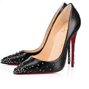 Christian Louboutin Degrastrass 120 KID/STRASS